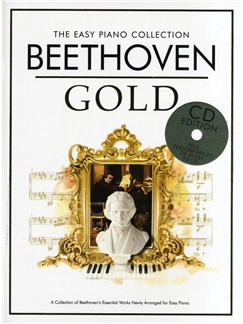 The Easy Piano Collection: Beethoven Gold (CD Edition) Books and CDs | Piano