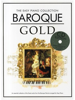 The Easy Piano Collection: Baroque Gold (CD Edition) Books and CDs | Piano