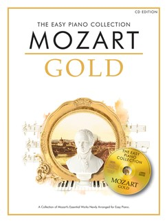 The Easy Piano Collection: Mozart Gold (CD Edition) Books and CDs | Piano