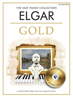 The Easy Piano Collection: Elgar - Gold (Book/CD Edition) Books and CDs | Piano