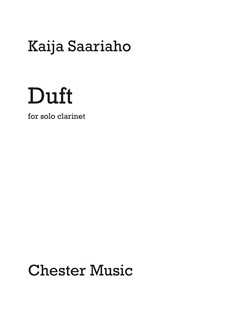 Kaija Saariaho: Duft for Solo Clarinet Books | Clarinet