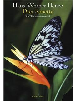 Hans Werner Henze: Drei Sonette (Three Sonnets) Books | SATB