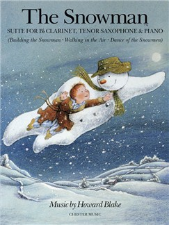 Howard Blake: The Snowman Suite (B Flat Clarinet/Tenor Saxophone/Piano) Books | Clarinet, Tenor Saxophone, Piano Accompaniment