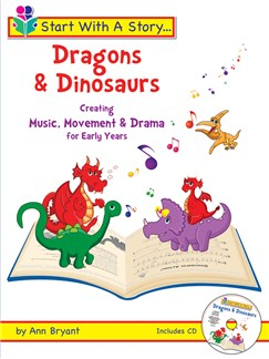 Start With A Story - Dragons & Dinosaurs Books and CDs | Melody Line, Lyrics & Chords