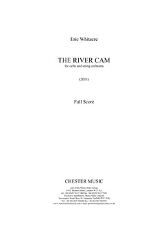 Eric Whitacre: The River Cam Books | Cello, String Orchestra