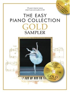 The Easy Piano Collection: Best Of Gold CD y Libro | Piano