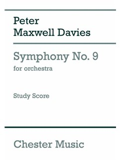 Peter Maxwell Davies: Symphony No. 9 (Study Score) Books | Orchestra, Brass Quintet
