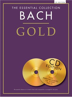 The Essential Collection: Bach Gold (CD Edition) CD et Livre | Piano