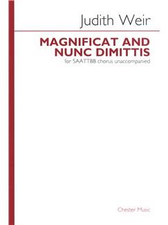 Judith Weir: Magnificat And Nunc Dimittis (SAATTBB Unaccompanied) Books | SAATTBB