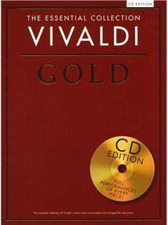 The Essential Collection: Vivaldi Gold (CD Edition) Books and CDs   Piano