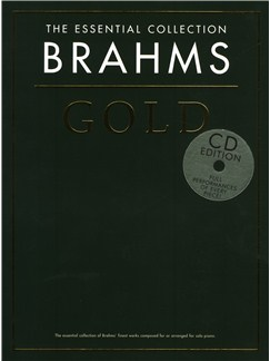 The Essential Collection: Brahms Gold (CD Edition) Books and CDs | Piano