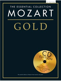 The Essential Collection: Mozart Gold (CD Edition) Books and CDs | Piano