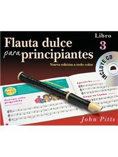 Flauta Dulce Para Principiantes Libro 3 (Recorder From The Beginning) Book/CD – Spanish CD y Libro | Flauta dulce