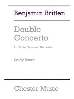 Benjamin Britten: Double Concerto (Study Score) Books | Violin, Viola, Orchestra