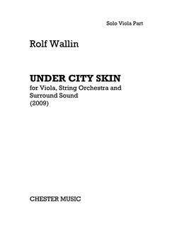Rolf Wallin: Under City Skin - Viola Part Books | Viola