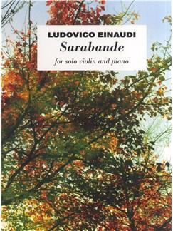 Ludovico Einaudi: Sarabande Books | Violin, Piano Accompaniment