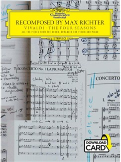 Recomposed By Max Richter: Vivaldi, The Four Seasons (Book/Audio Download) Books | Violin, Piano Accompaniment
