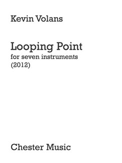 Kevin Volans: Looping Point Books | Ensemble, Flute, Clarinet, Piano Chamber, Violin, Viola, Cello, Contrabassoon