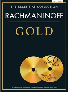 The Essential Collection: Rachmaninoff Gold (Book/CDs) Books and CDs | Piano