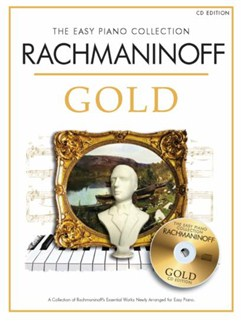 The Easy Piano Collection: Rachmaninoff Gold (Book/CD) Books | Piano