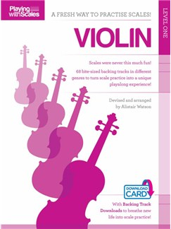 Playing With Scales: Violin Level 1 (Book/Download) Books and Digital Audio | Violin