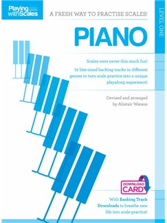 Playing With Scales: Piano Level 1 (Book/Download) Books and Digital Audio | Piano