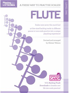 Playing With Scales: Flute Level 1 (Book/Download) Books and Digital Audio | Flute