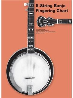 5-String Banjo Fingering Chart  | Banjo