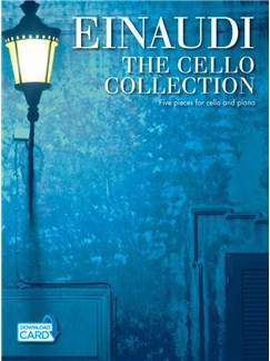 Ludovico Einaudi: The Cello Collection Books and Digital Audio | Cello, Piano Accompaniment