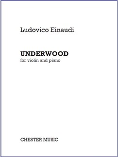 Ludovico Einaudi: Underwood (For Violin And Piano) Libro | Piano, Violín