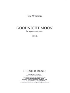 Eric Whitacre: Goodnight Moon Bog | Sopran, Klaverakkompagnement