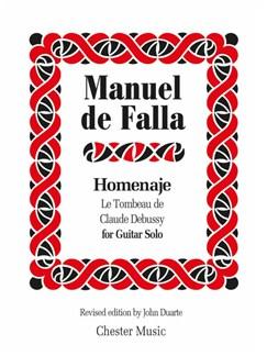 Manuel De Falla: Homenaje Le Tombeau De Claude Debussy (Guitar Solo) [Amended Edition 2014] Books | Guitar