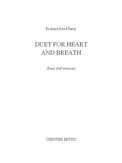 Richard Reed Parry: Duet For Heart And Breath (Bass Clef Version) Books | Cello, Piano Accompaniment