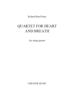 Richard Reed Parry: Quartet For Heart And Breath (For String Quartet) Books | String Quartet