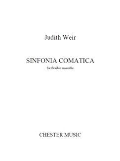 Judith Weir: Sinfonia Comatica (For Flexible Ensemble) Books | Ensemble