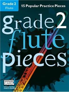Grade 2 Flute Pieces (Book/Audio Download) Books and Digital Audio | Flute