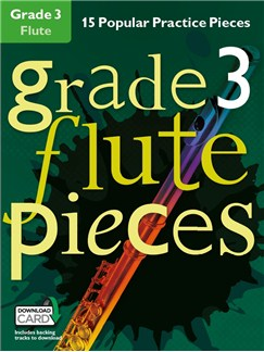 Grade 3 Flute Pieces (Book/Audio Download) Books and Digital Audio | Flute