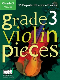 Grade 3 Violin Pieces (Book/Audio Download) Audio Digitale et Livre | Violon