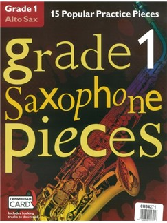 Graded Pieces Series 12 Book Bundle Books and Digital Audio | Saxophone