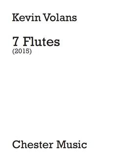 Kevin Volans: 7 Flutes (Score/Parts) Books | 7 Flutes