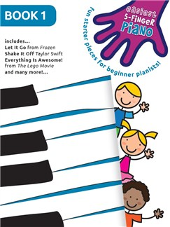 Easiest 5-Finger Piano - Book 1 Livre | Piano