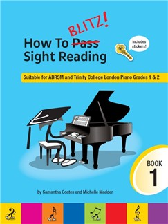 How To Blitz! Sight Reading (Book 1) Books | Piano