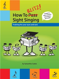 How To Blitz! Sight Singing Books | Voice