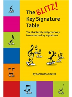 The Blitz! Key Signature Table Buch |