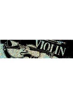 Case Sticker: Violin  |
