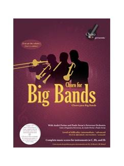 Choro For Big Bands Books | C Instruments, E Flat Instruments, B Flat Instruments