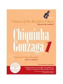 Classics Of The Brazilian Choro : Chiquinha Gonzaga 1 Books | Flute, Mandolin, Clarinet, Sopranino Sax, Alto
