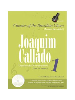 Joaquim Callado 1 Books and CDs | C Instruments, B Flat Instruments, E Flat Instruments