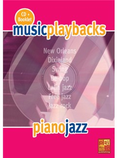 Music Playbacks CD: Piano Jazz (Italian) Books and CDs | Piano
