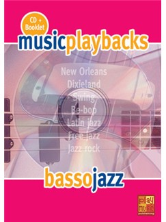 Music Playbacks CD: Basso Jazz (Italian) Books and CDs | Bass Guitar